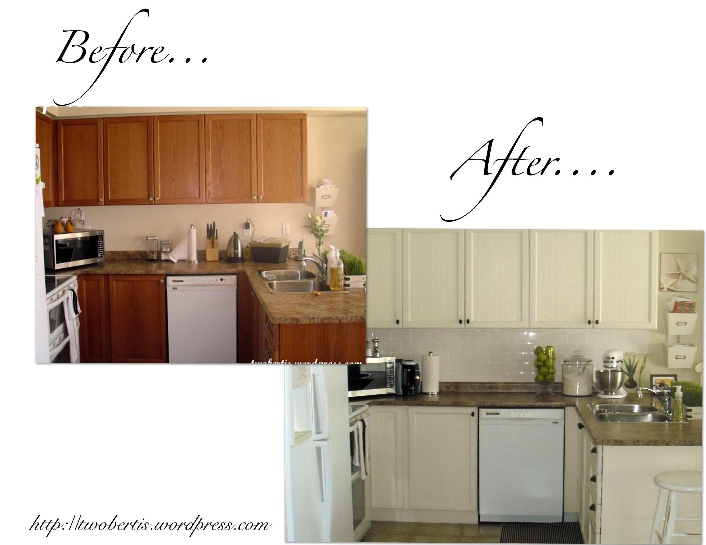 Our Kitchen Reno Twobertis