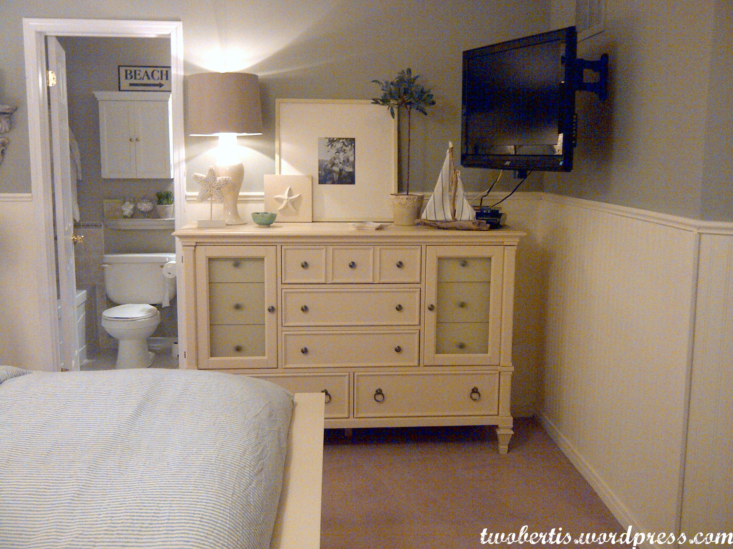 remodelaholic pottery barn inspired master bedroom makeover before