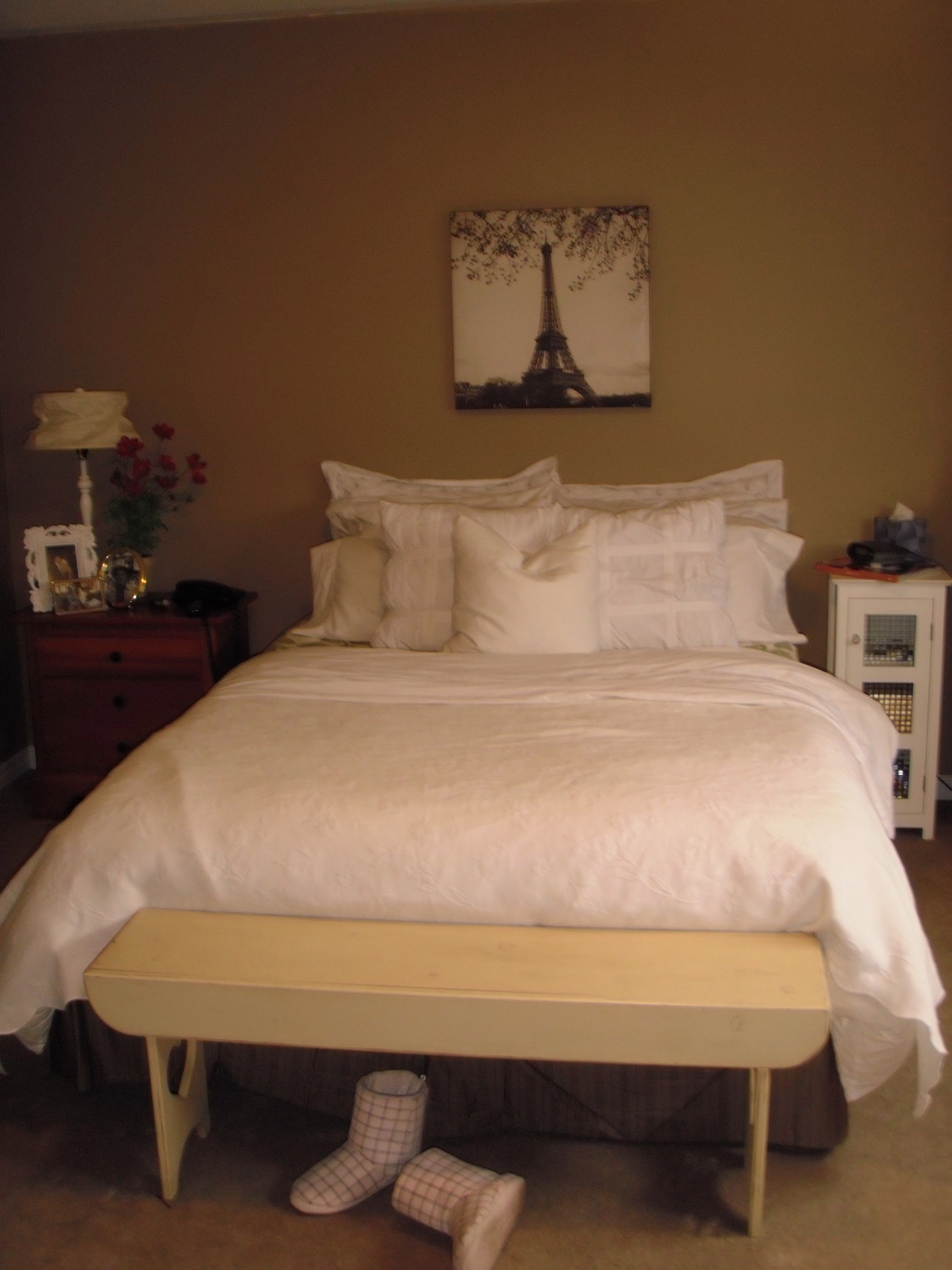 Remodelaholic pottery barn inspired master bedroom makeover Master bedroom makeover pinterest