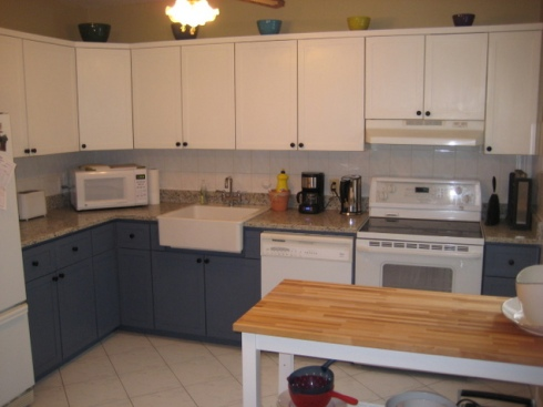 Painting Kitchen Cabinets Twobertis