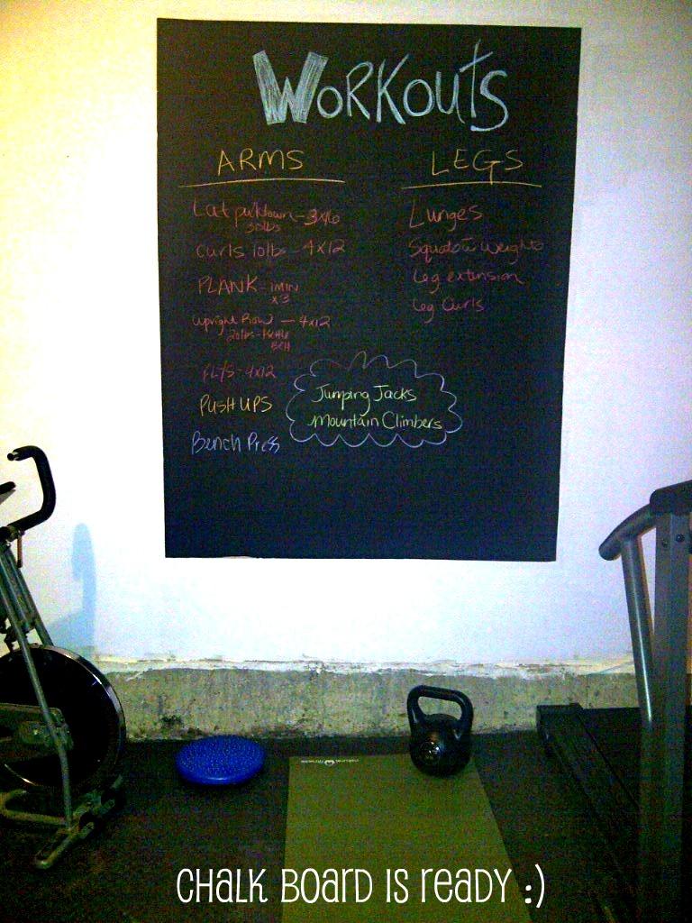 Home gym u update u twobertis