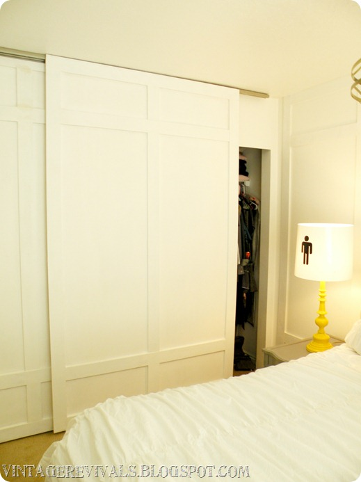 Diy closet door ideas twobertis for Closet door ideas
