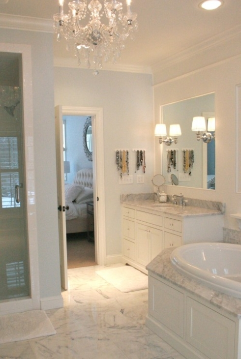 Calm cool master bath twobertis for Cool master bathrooms