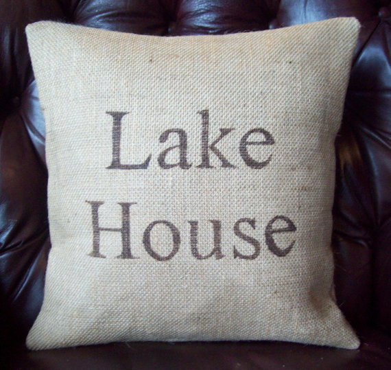 http://www.etsy.com/listing/108616658/lake-house-burlap-pillow-cover-16-x-16
