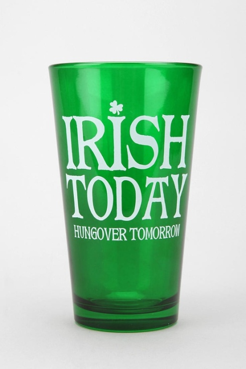 Irish Pint Glass 2 for $12