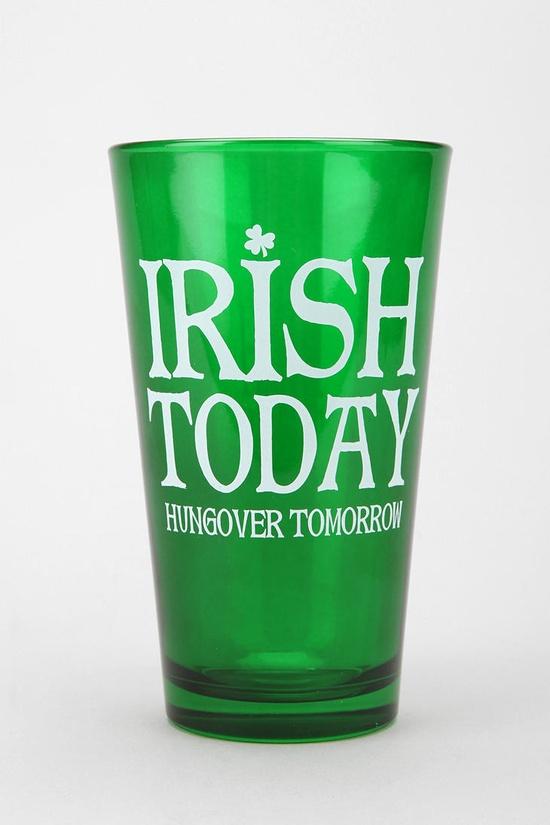 Irish Pint Glass 2 for $12