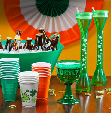 st-patricks-day-drinkware