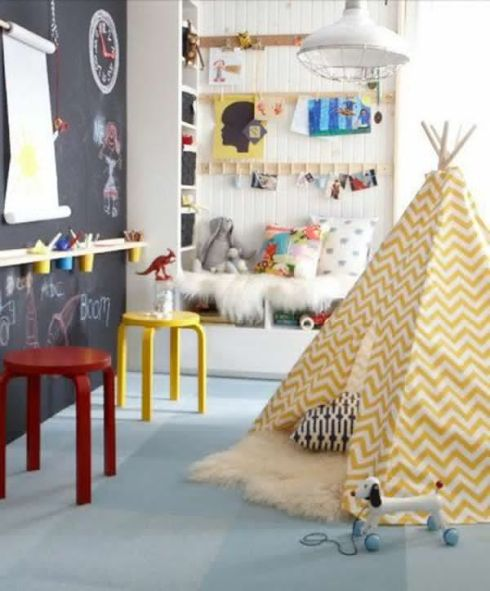 http://homemydesign.com/2013/35-adorable-kids-playroom-ideas/