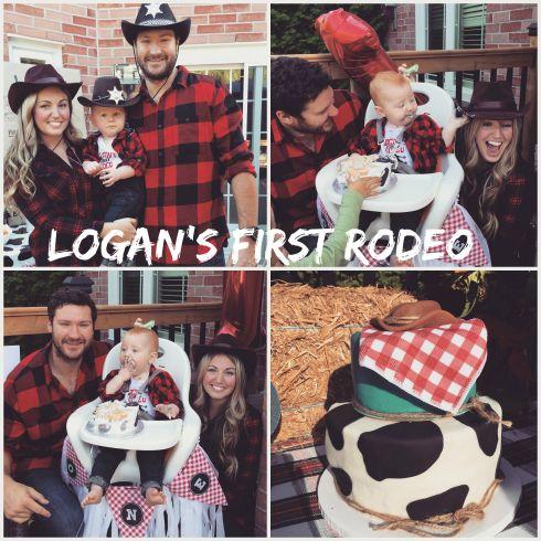 Logans first rodeo